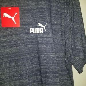 Puma blue shirt